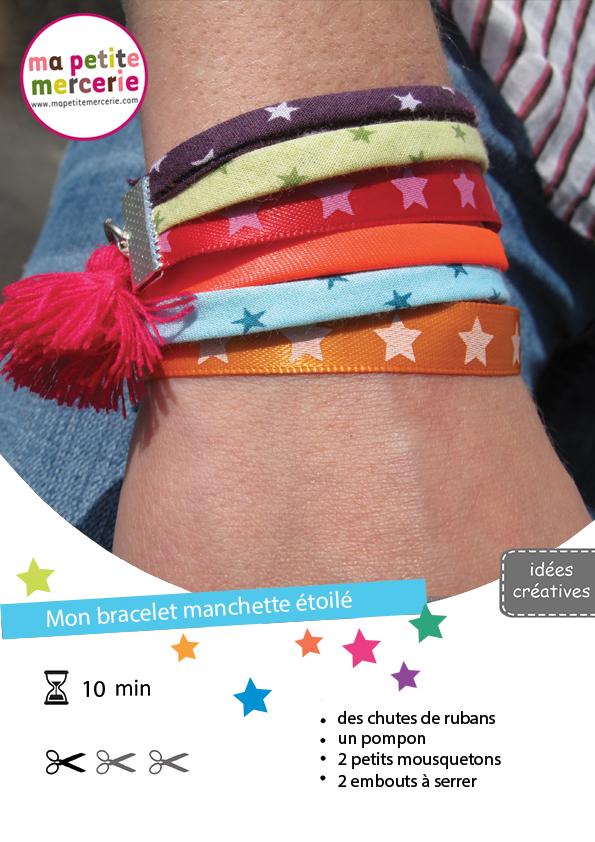 DIY bracelet bresillien
