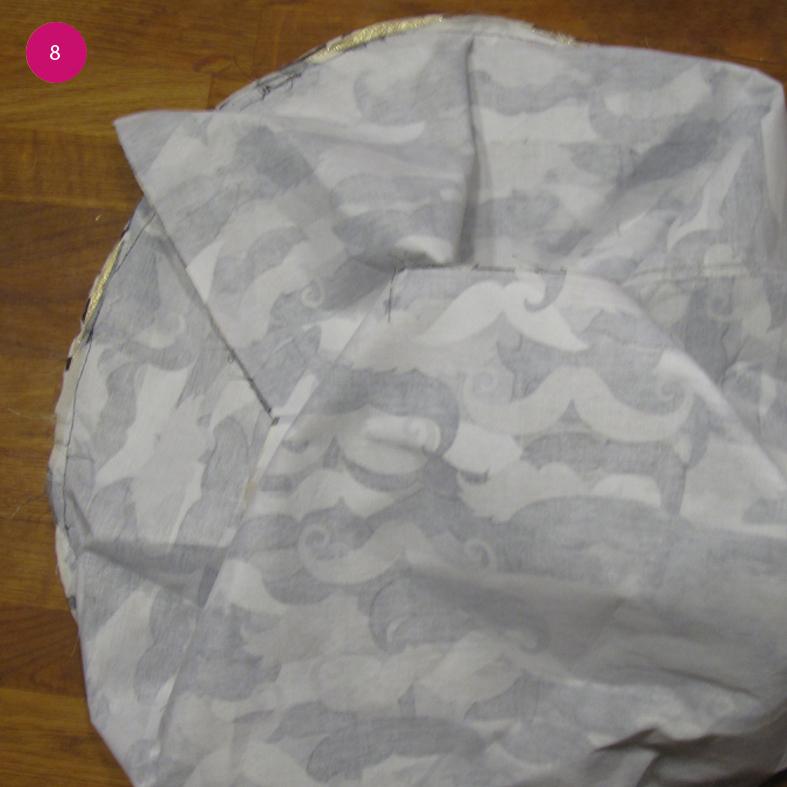 Diy pouf 8