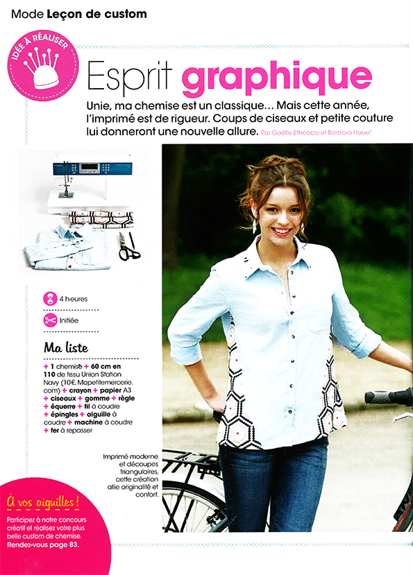 presse mode et travaux juillet 2014