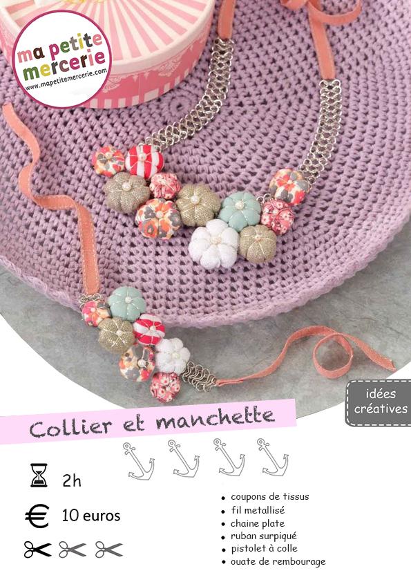 diy collier mariage