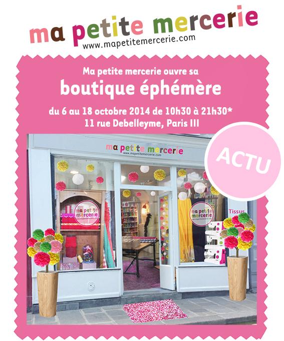 boutique ephemere blog