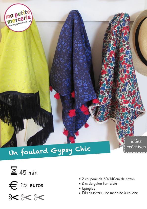 Diy foulard gypsy