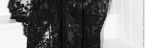 DIY: Ma jolie robe noire pour les Fêtes
