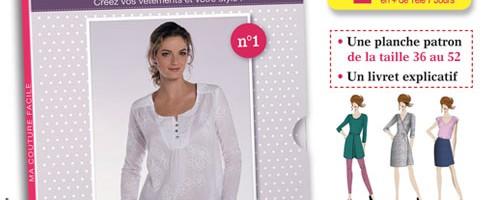 Nouveauté : La collection «ma couture facile»