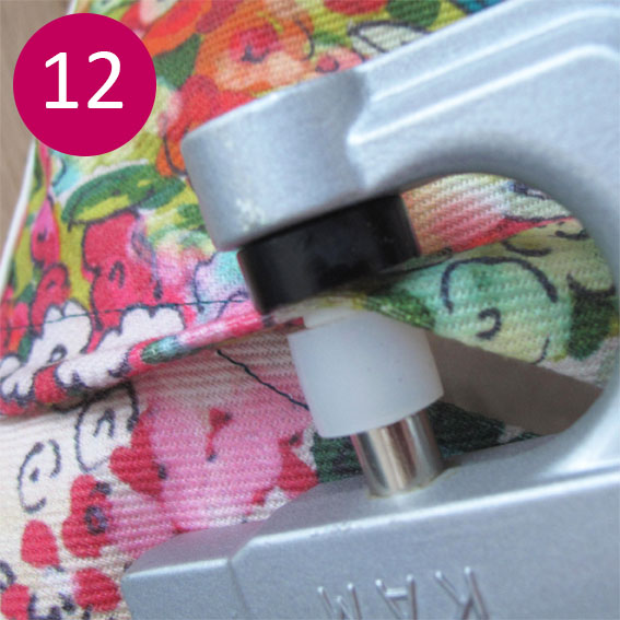 DIY coussin fleuri 12