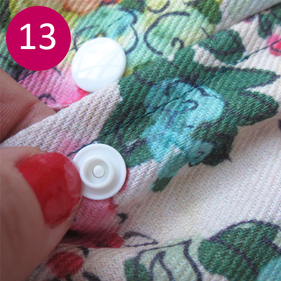 DIY coussin fleuri 13