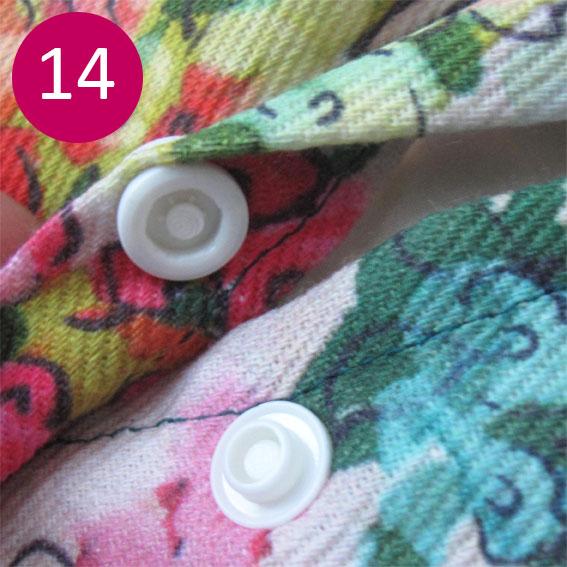 DIY coussin fleuri 14