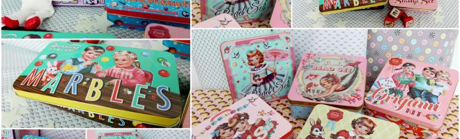 Coup de coeur : les kits et boîtes vintage !