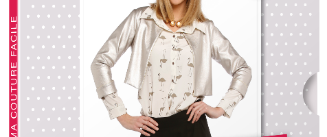 Créez votre veste courte Eden avec la sélection de tissus Ma Petite Mercerie.