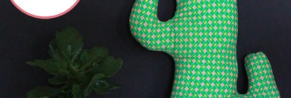 DIY : mon coussin cactus (qui ne pique pas…)