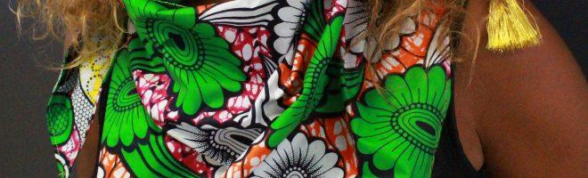 DIY : Mon foulard African style