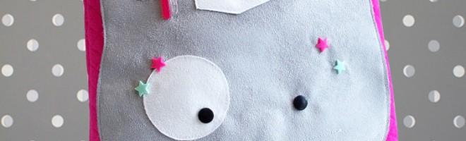 DIY : Mon sac chat Charli par Filozofée