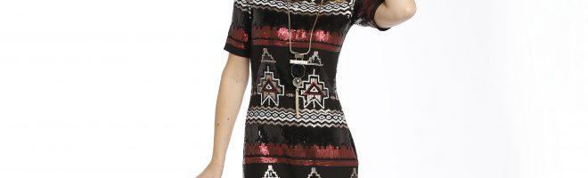 Créez votre robe crystal de fête avec la sélection de tissus Ma Petite Mercerie.