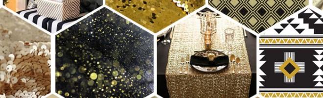 Inspiration : mon Noël chic en noir et or