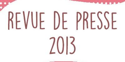 Publications 2013 : tutoriels, couture