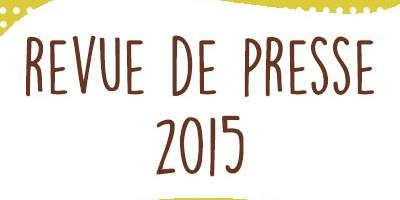 Publications presse 2015 : tutoriels, produits, mode & couture