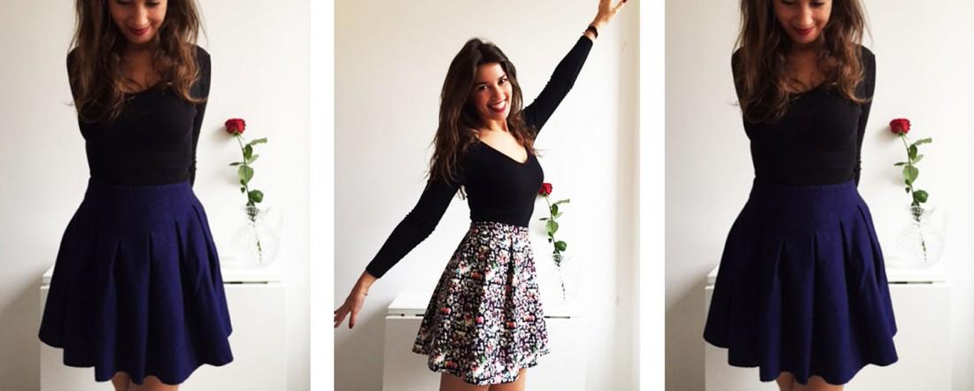 patron couture jupe soleil