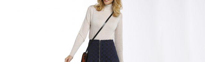 Créez votre jupe zippée avec la sélection de tissus Ma petite mercerie.