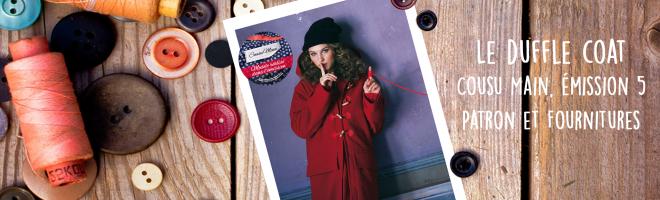 Cousu main 2016, l'émission 5 : les vêtements d'hiver.