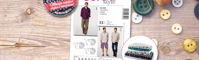 Jeu concours Burda Style & MPM – Émission 9