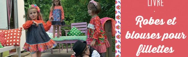 Livre : Robes et blouses pour fillettes