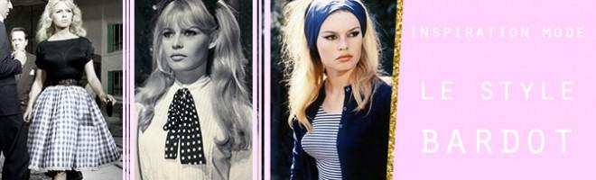 Inspiration mode : le style Bardot