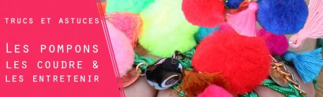 Trucs et astuces : coudre et entretenir les pompons