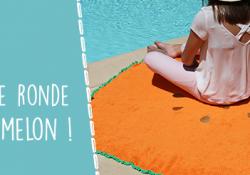 DIY : ma serviette éponge ronde !