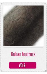 ruban fourrure capuche