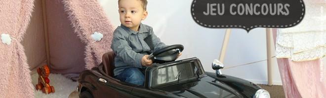 Jeu concours Mercedes 300SL avec Carkids.fr