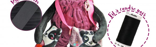 Fabriquez la peluche Panda Laëtibricole avec MPM !