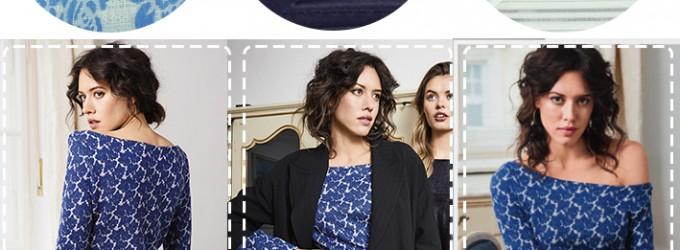 Burda Style – La robe en jersey jacquard