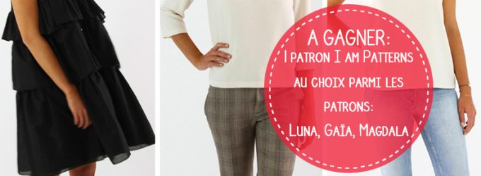 Jeu concours Les patrons Iam Patterns collection Iam in Unique ! – Octobre 2018