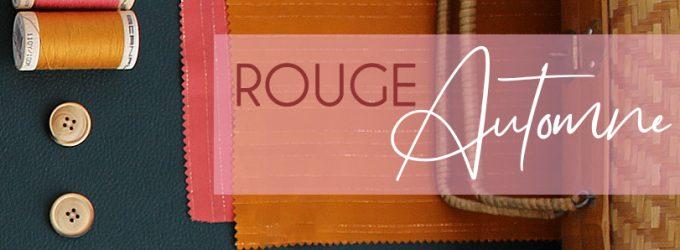Inspiration : Tendance Rouge Automne