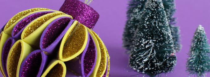 DIY : Boule de Noël