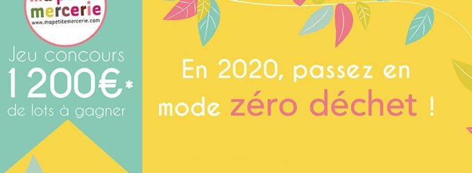 Jeu concours : en mode zéro déchet pour 2020 !