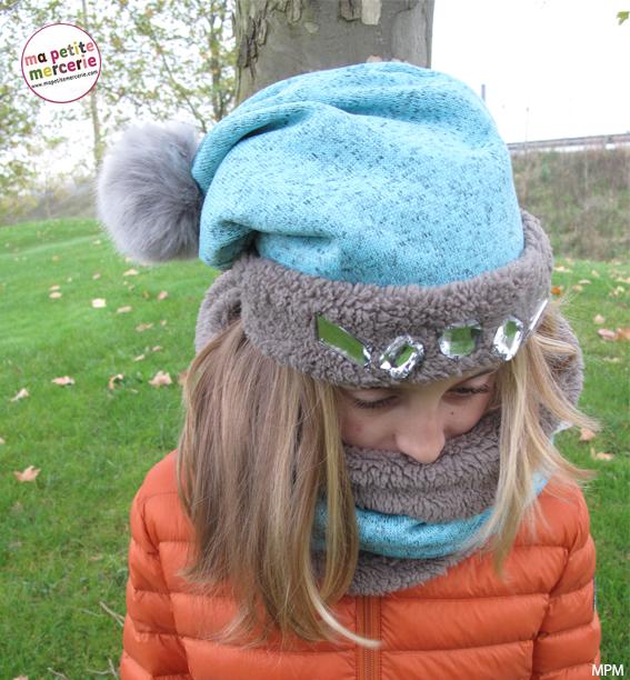 294797b5002f Tuto   réalisez un bonnet et un snood - Ma petite Mercerie, le blog