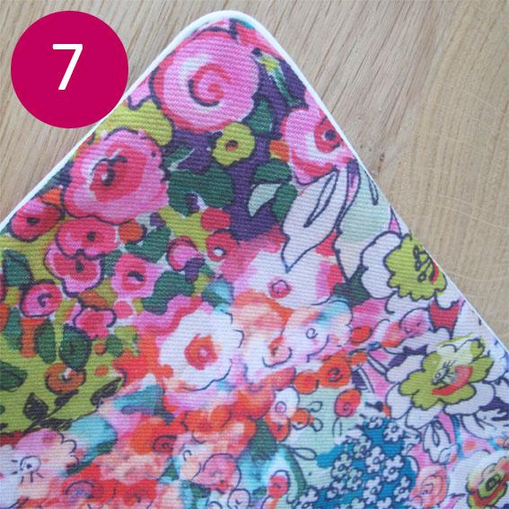 DIY coussin fleuri 7