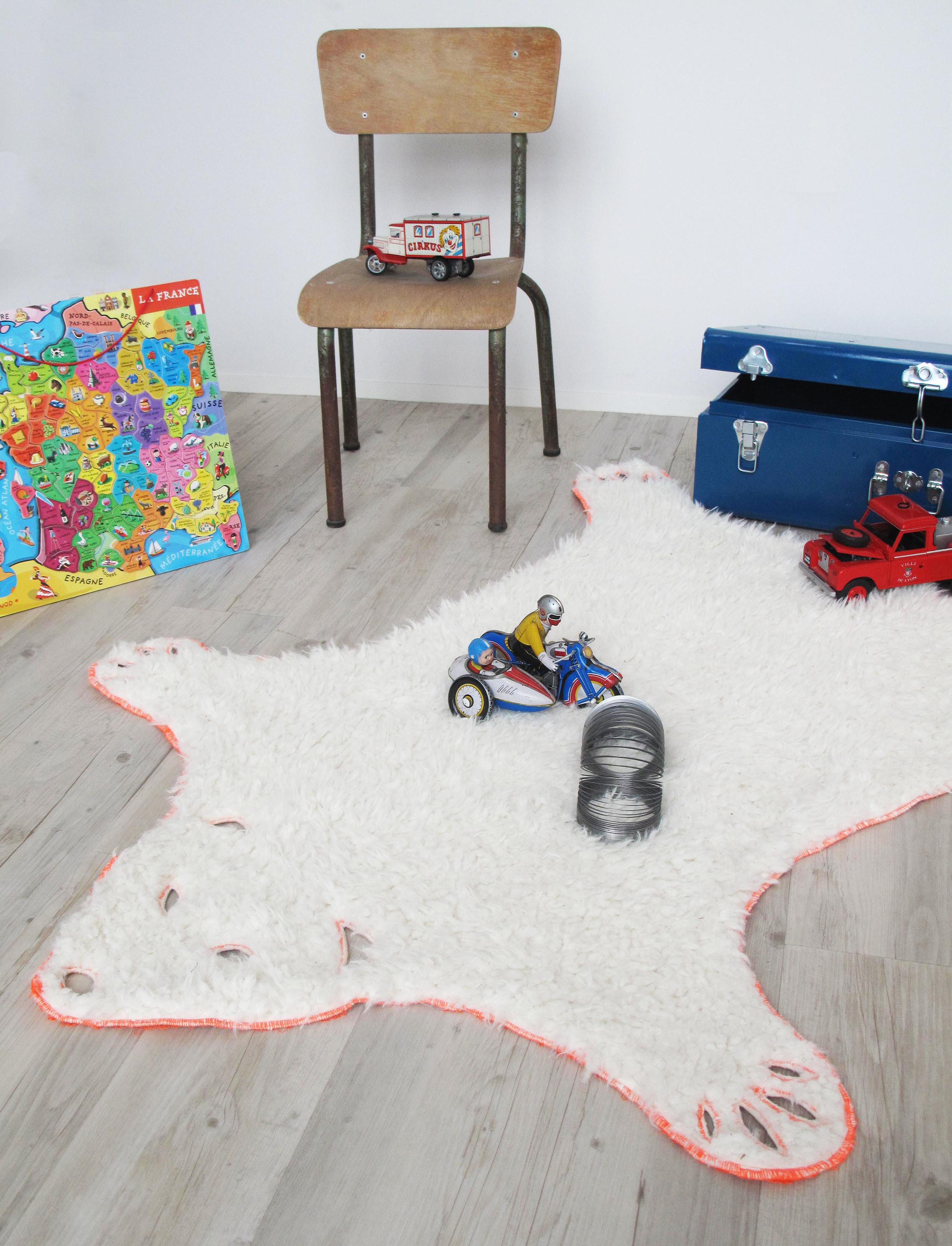diy le tapis ours tout doux ma petite mercerie le blog. Black Bedroom Furniture Sets. Home Design Ideas