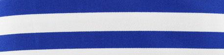 tissu-gabardine-lycra-rayures-bleues-navy-sur-fond-blanc-x-10cm