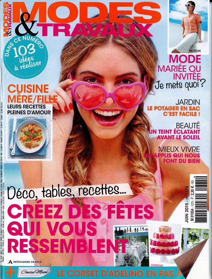 couverture modes et travaux juin 2015