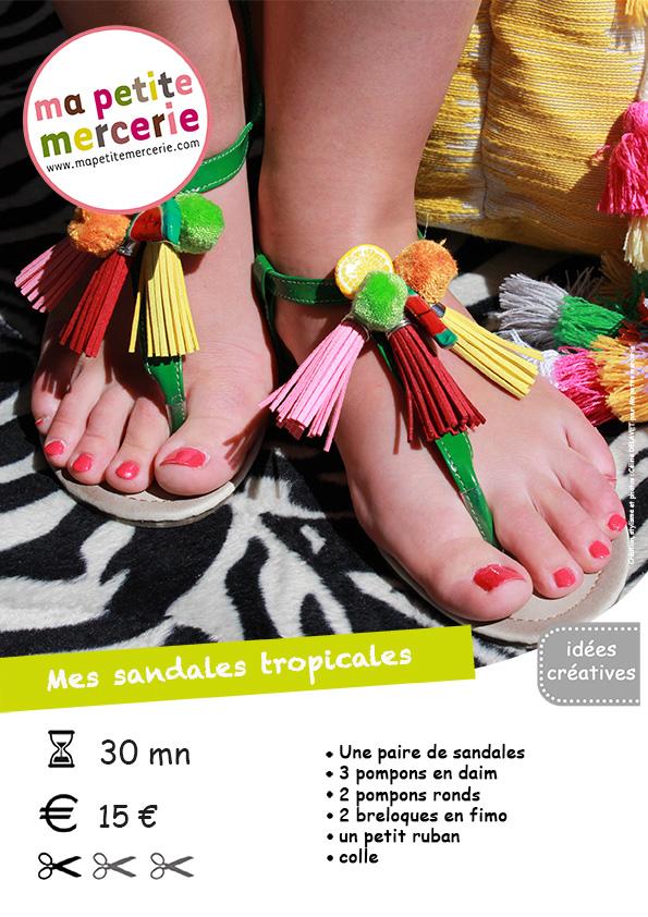 sandales tropic