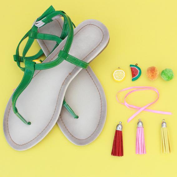 sandale fournitures