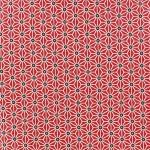 tissu-coton-saki-rouge-blanc-x-10cm