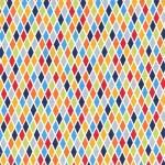tissu-rhombus-blue-x-10cm