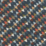 tissu-persimmon-triangle-marine-x-10cm