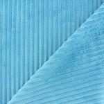 tissu-velours-minkee-a-cotes-bleu-lagon-x-10cm