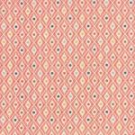tissu-persimmon-losange-corail-x-10cm