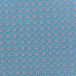 tissu-poppy-ornaments-petites-fleurs-bleu-x-10cm