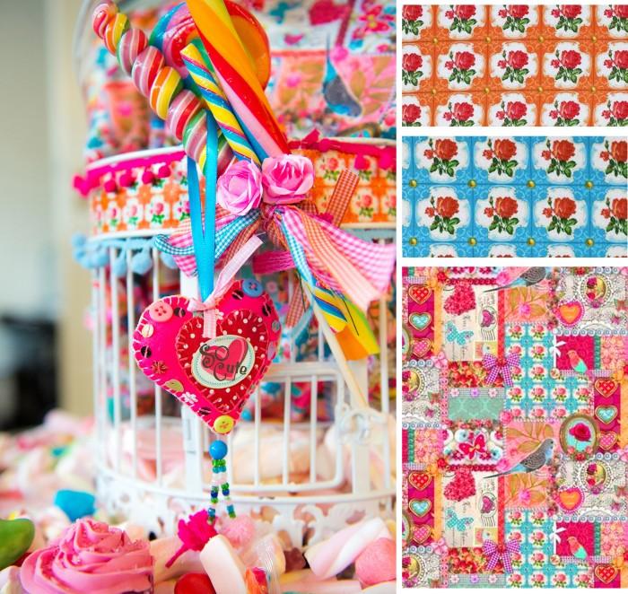 On adore les tissus de cette collection pour créer de jolies tenues (jupes, hauts, robes...) ou des accessoires de décoration (rideaux, coussins...)